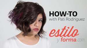 90 degree triangle haircut inverted bob haircut tutorial with pati rodriguez estilo y forma