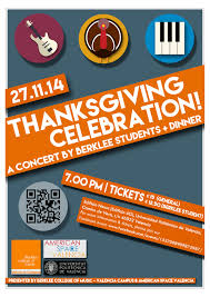 thanksgiving celebration berklee valencia cus