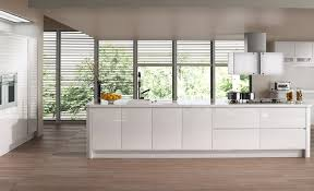 Sleek Modular Kitchen Designs by Impressive Design Of Small Modern White Kitchen With L Shaped