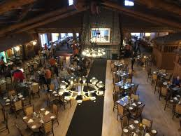 View From Restaurant Picture Of Old Faithful Inn Dining Room - Old faithful inn dining room menu