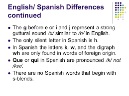 chapter 2 structure of spanish ppt video online download