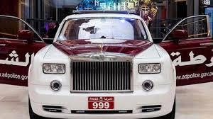 ad police rolls royce phantom joins abu dhabi police fleet