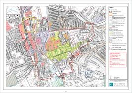 Paper Town Map Proposed Submission Local Plan Strategy And Sites 2017 Part 3