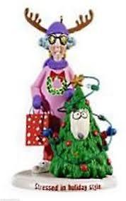 hallmark maxine ornament ebay