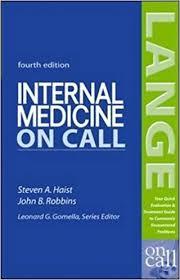 internal medicine on call lange on call 9780071439022 medicine