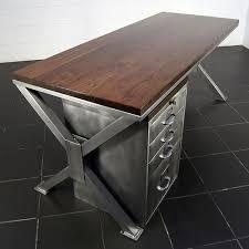 Modern Industrial Desk Best 25 Industrial Office Desk Ideas On Pinterest Industrial