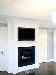 mount flat screen tv above gas fireplace mounting bedroom install