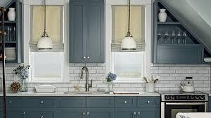 White Blue Kitchen 11 Beautiful Blue Kitchens Coastal Living