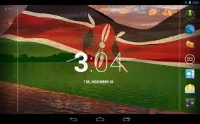 Kenya Africa Flag 3d Kenya Flag Live Wallpaper Android Apps On Google Play