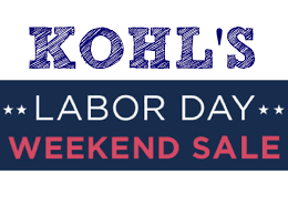 kohl s labor day sale tons of stackable coupons redeem