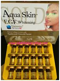 aqua skin egf gold suntik awet muda skinnic aqua skin whitening egf gold www