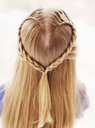 How To Make Hairstyles For Girls by Lace Braid Heart Heart Braid Lace Braid And Hair Style
