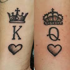 king queen of hearts finger tattoo 1000 geometric tattoos ideas