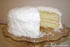 Coconut Cake Recipe Two Layer Coconut Cake Recipe About A Mom