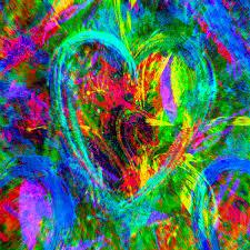 modern art hearts modern art