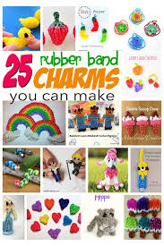 best 25 loom band charms ideas on loom bands designs