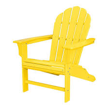 Synthetic Wood Patio Furniture by Adirondack Chairs Patio Chairs The Home Depot