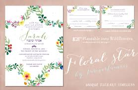 bas mitzvah invitations bat mitzvah invitations with floral of david on seeded paper