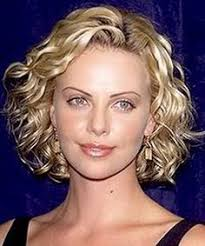 hair perms 2015 loose spiral perm short hair charlize theron short spiral curls