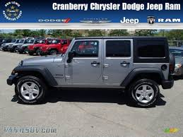 dodge jeep silver 2013 jeep wrangler unlimited sport s 4x4 in billet silver metallic