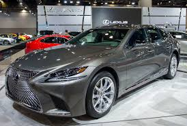 lexus es 2018 2018 lexus ls 500h debuts in north america at the vancouver show