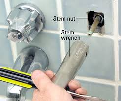 how to change a bathtub faucet tub and shower stem compression faucet repair and installation