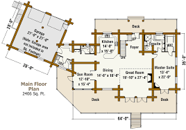 ranch style log home floor plans ranch log home design by the log connection