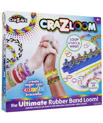 amazon com cra z art cra z loom bracelet maker kit toys u0026 games