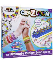 amazon com cra z art cra z loom bracelet maker kit toys u0026 games