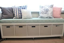 Ikea Shoe Bench Wondrous Storage Bench Ikea With Cushions Seat And Pillows