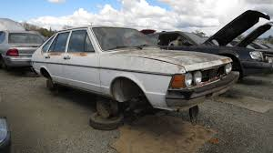 mitsubishi hatchback 1980 junkyard find 1980 volkswagen dasher four door hatchback the