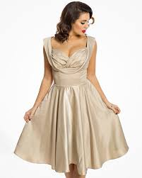 gold party dress lou gold party dress vintage inspired fashion lindy bop