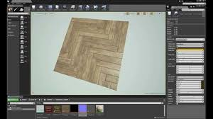 procedural wood material timelapse in ue4 youtube