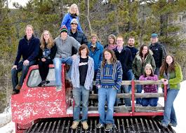 winter ecology field course