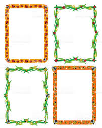 Designs For Invitation Card Template Frame Border For Decoration Or Invitation Cards With