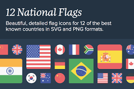 Countries Of The World Flags Get Globalized With 12 Sets Of Flag Icons From All Over The World