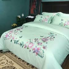 bed sheet fabric embroidery design 100 cotton fabric bed cover bed sheet pillow case
