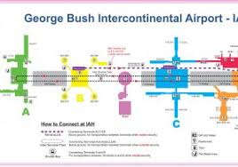 map houston airports map of houston george bush intercontinental airport location