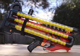 Nerf Gun Meme - crazy modified nerf gun can hold over 100 rounds of ammo at one time