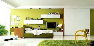 chambre ado vert lit ado fille design chambre ado garaon ado pelouse tapis lit vert