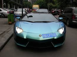 lamborghini green and black lamborghini aventador is green kinda blue and black in china