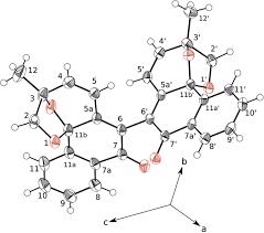 warmingiins a and b two new dimeric naphthoquinone derivatives