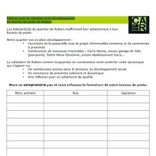 bureau de poste a proximité pétition pour le maintien et le développement du bureau de poste
