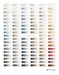 annie sloan chalk paint colours mixing chart home painting