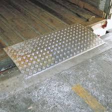 pedana di carico pedana di carico rimovibile 2 tn 600 x 1500 mm
