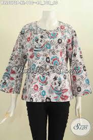 desain baju kekinian jual baju blus batik kekinian pakaian batik modern desain tanpa