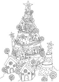 creative christmas tree coloring book a collection of classic