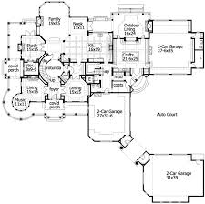 Corner House Floor Plans Plan W23413jd Craftsman Luxury Corner Lot Country Shingle