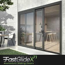 High Security Patio Doors Fastglide X71 Aluminium Sliding Patio Doors Windoorcareuk