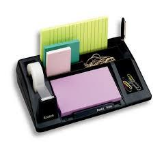 Post It Desk Organizer 3m Mining Peru 3m Desktop Organizer C 61 Black